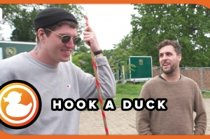 Trophy Eyes' John & Kevin Play Our 'Hook A Duck' Interview - Festival Funfair