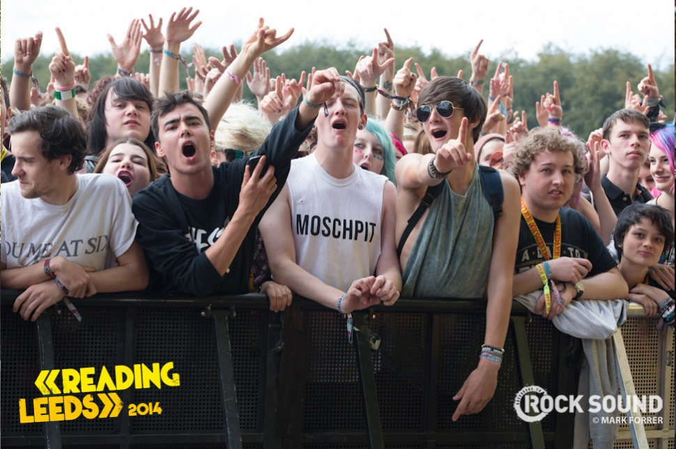 The Story So Far opening up Leeds Festival. August 22, 2014