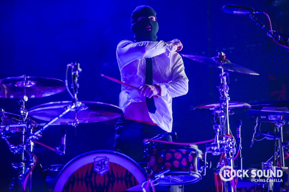 Twenty One Pilots, The Schott Columbus Ohio, June 25 // Photo: Chris Casella