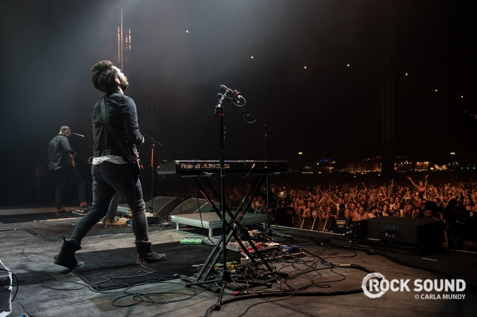Twin Atlantic, Reading Festival, August 30 // Photo credit: Carla Mundy