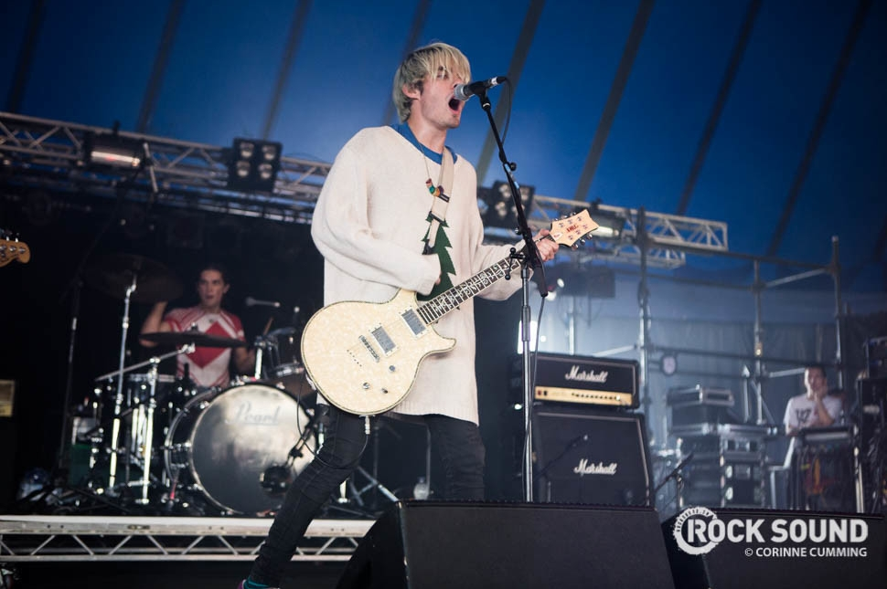 Waterparks, Reading Festival 2016, August 28 // Photo credit: Corinne Cumming