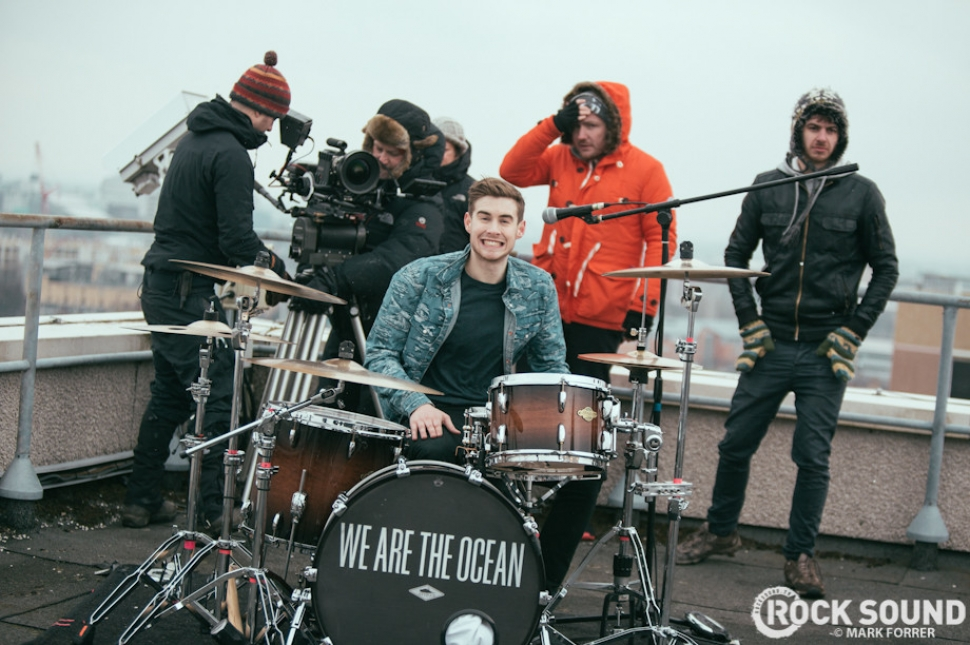 On Set With We Are The Ocean