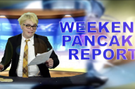 Watch Gerard Way Deliver The Weekend Pancake Report!