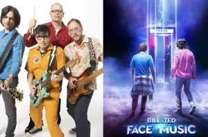 LISTEN: Weezer's New Rock And Roll Epic, Taken From The Soundtrack Of 'Bill & Ted Face The Music'