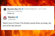 Wendy's Roasted The Entire Scene Over The Weekend