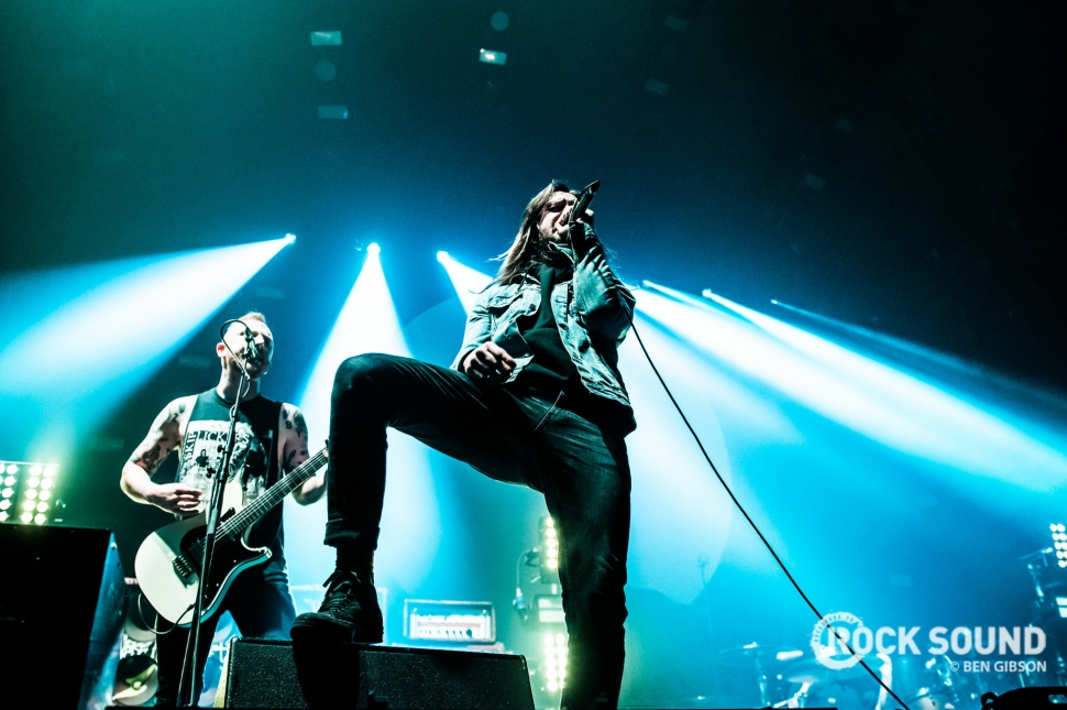 While She Sleeps, London Alexandra Palace, February 03, 2018 // Photo credit: Ben Gibson
