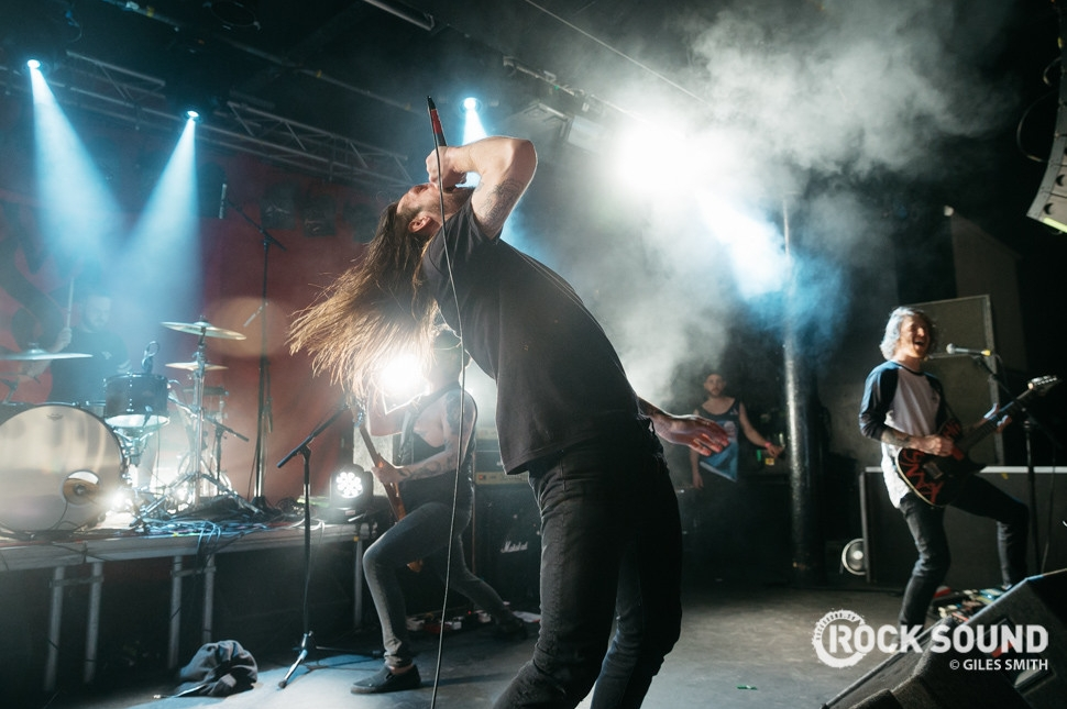 While She Sleeps, Hit The Deck Nottingham, April 26 // Photo credit: Giles Smith