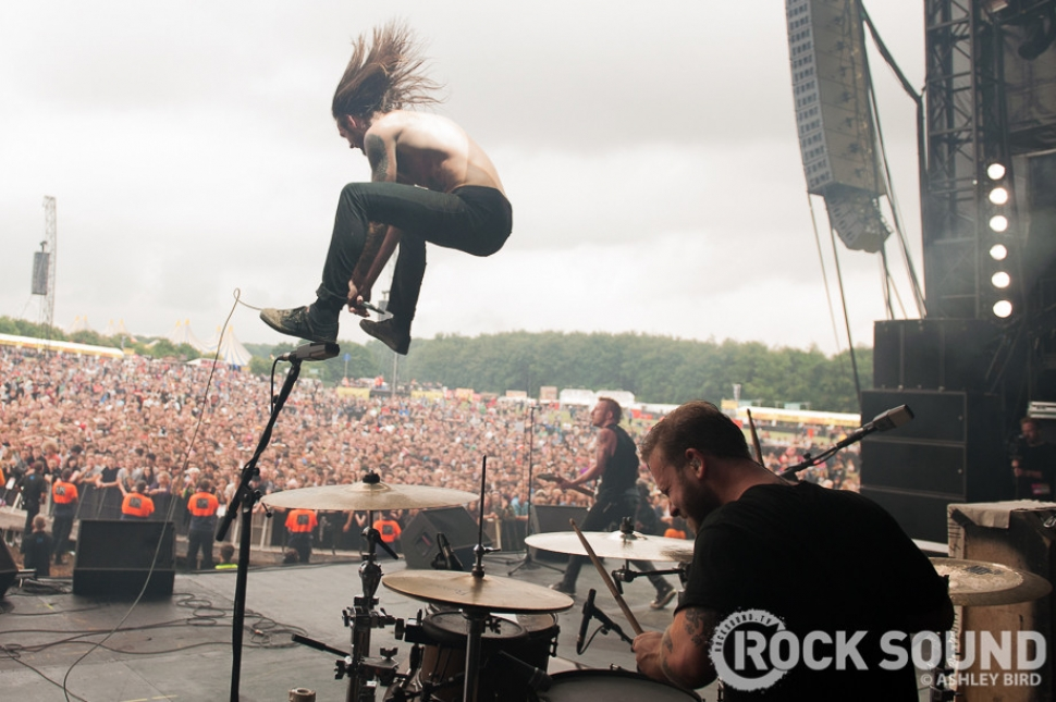 Reading / Leeds Festival 2013 Photos: While She Sleeps