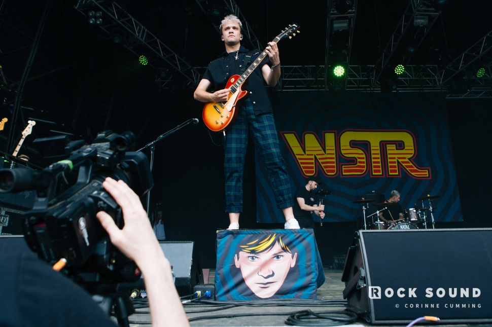 WSTR, Slam Dunk South, May 26 // Photo: Corinne Cumming