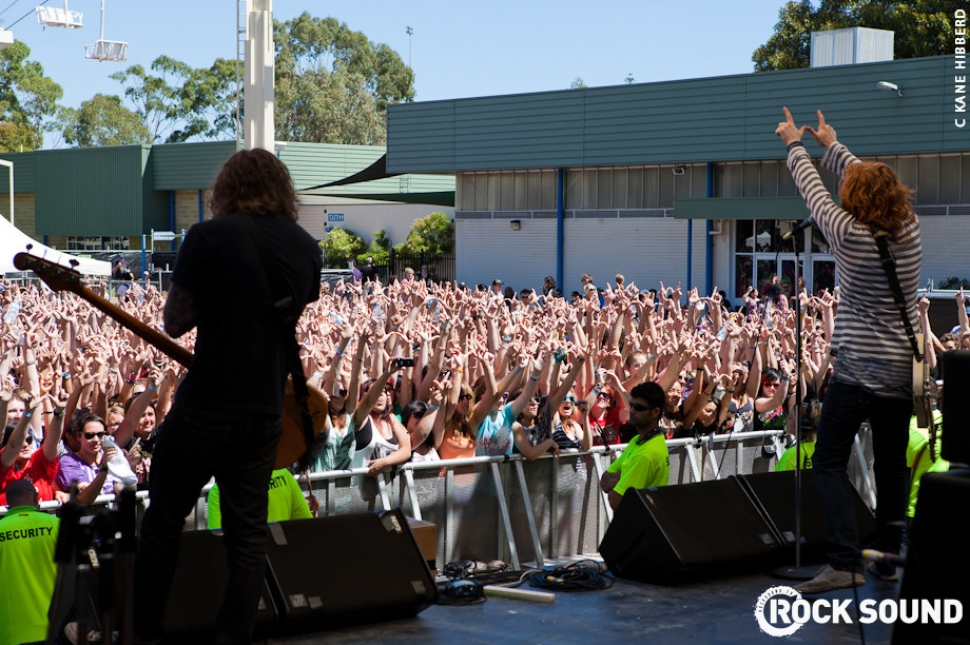 Live And Loud At Soundwave 2011: We The Kings
