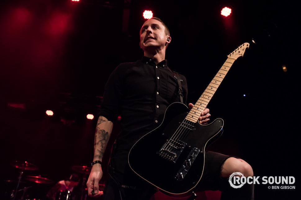 Yellowcard, London Brooklyn Bowl, December 22 // Photo: Ben Gibson