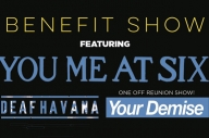 You Me At Six, Your Demise (!) + Deaf Havana Have Announced A Benefit Show For The Ghost Inside