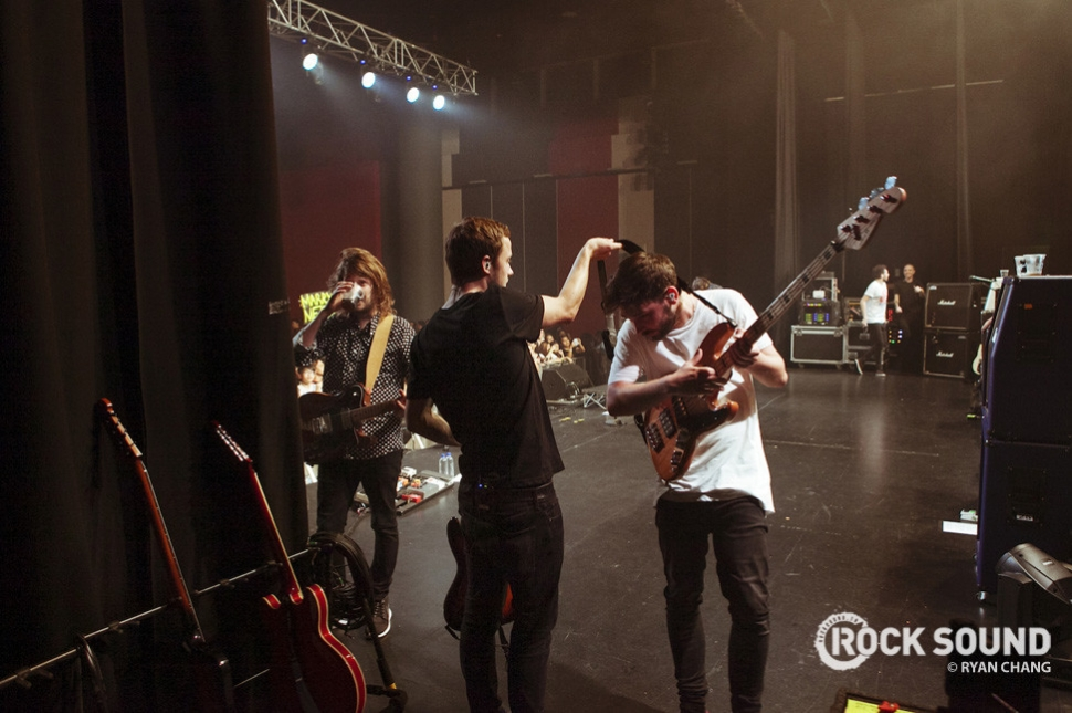 You Me At Six, Singapore, September 2014. Photo credit: Ryan Chang