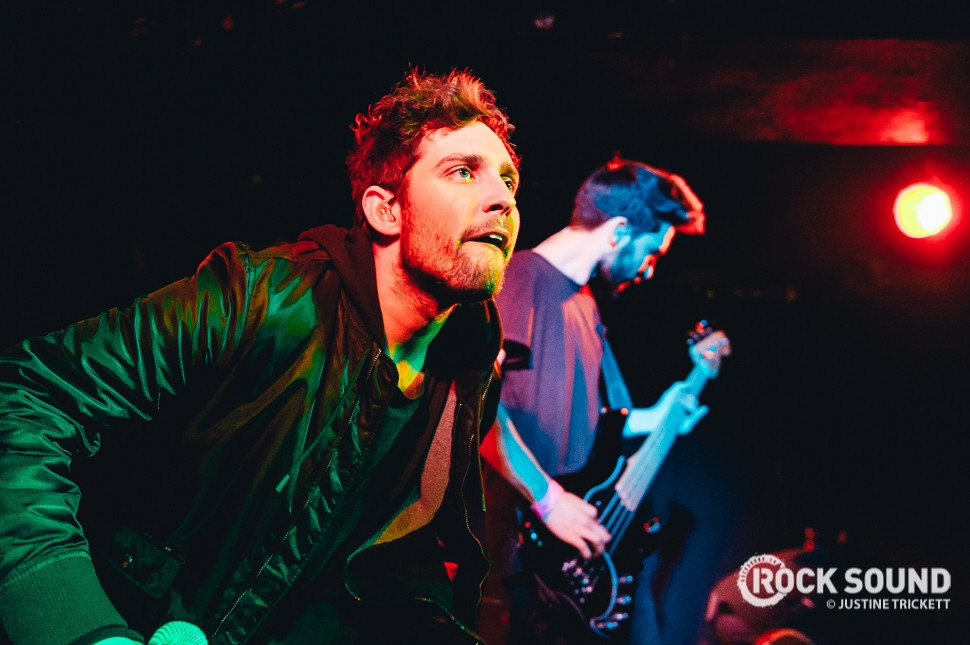 You Me At Six, London Underworld, December 11 // Photo credit: Justine Trickett