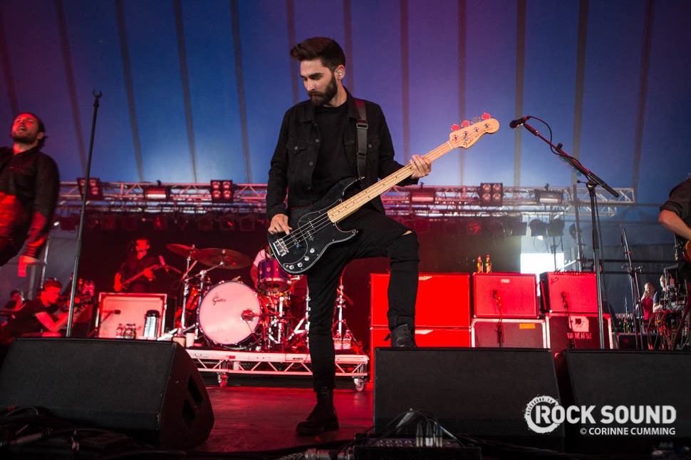 You Me At Six, Reading Festival 2016, August 27 // Photo credit: Corinne Cumming
